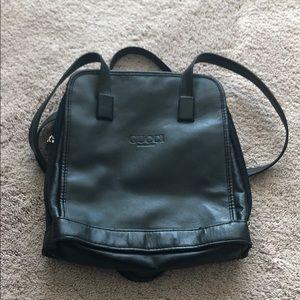 Black Vintage Gucci Unisex Purse/HandBag